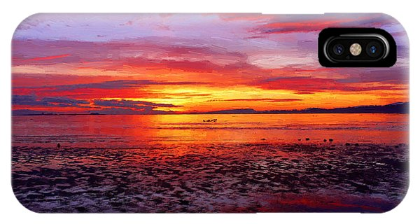 Awesome Ocean Sunset IPhone Case