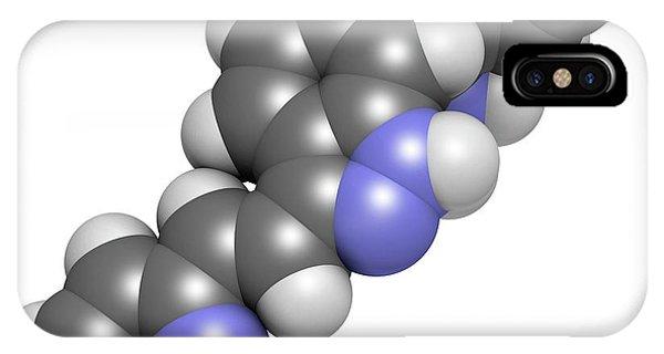 Axitinib Cancer Drug Molecule Phone Case by Molekuul