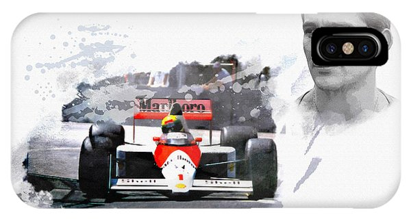 Ayrton Senna Genius IPhone Case