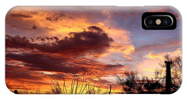 Az Monsoon Sunset IPhone Case