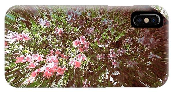 Azalea Bouquet IPhone Case