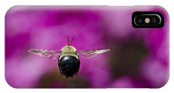 Azalea Bush Bee IPhone Case