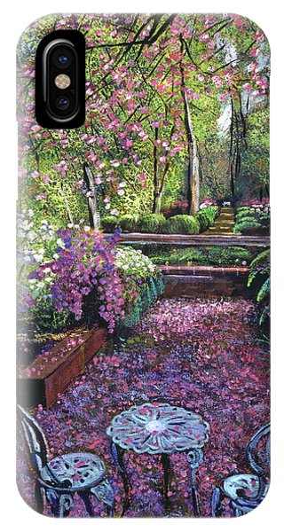 Azaleas And Cherry Blossoms IPhone Case