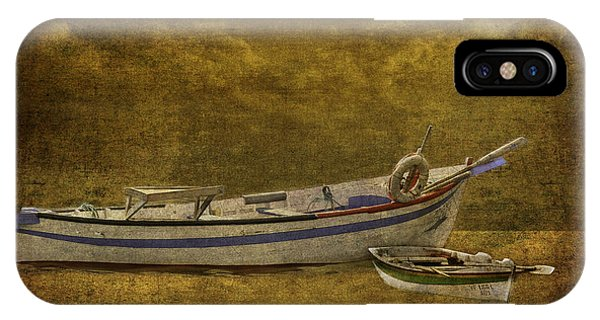 Azorean Fishing Boats IPhone Case