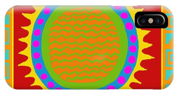 Aztec Del Sol IPhone Case