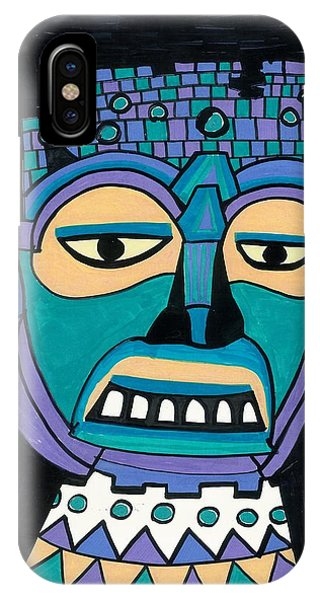 Aztec Mask IPhone Case