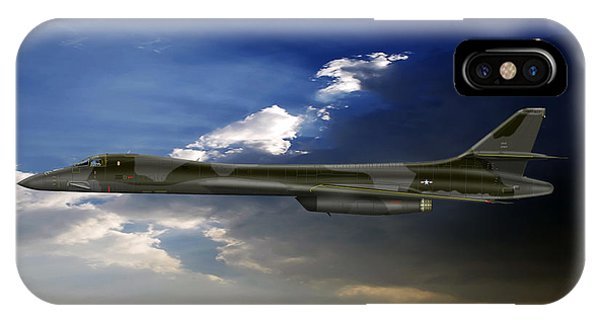 B-1b Lancer Phone Case by Arthur Eggers