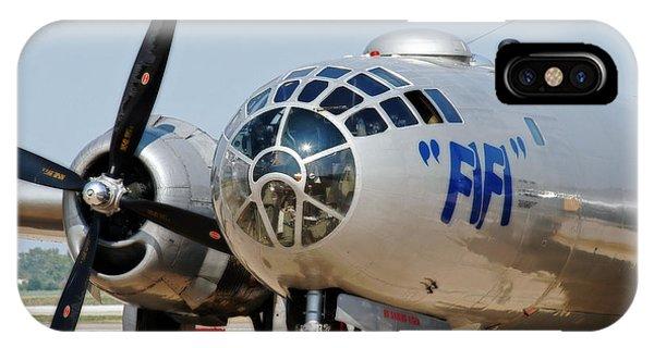 B-29 Bomber Fifi IPhone Case