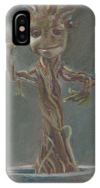 B And G Is For Baby Groot IPhone Case