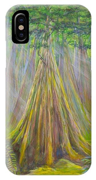 B C Cedars IPhone Case