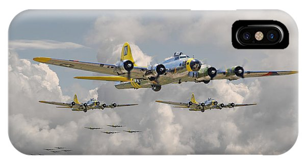 B17 486th Bomb Group IPhone Case