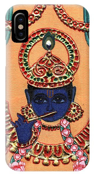 Baansuri Krishna IPhone Case