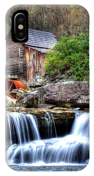 Babcock Grist Mill IPhone Case