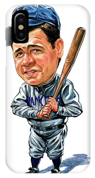 Babe Ruth iPhone Case - Babe Ruth by Art