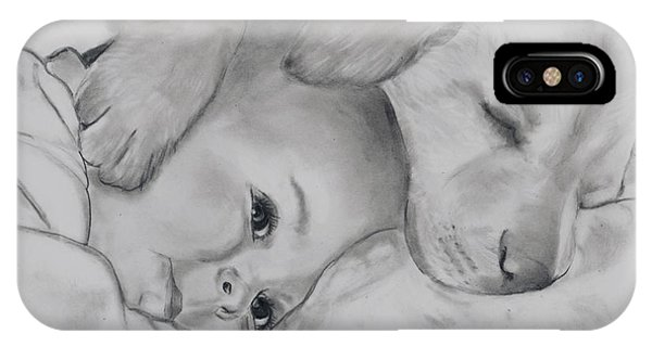 Babes In Arms IPhone Case