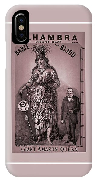 Babil And Bijou - Giant Amazon Queen IPhone Case