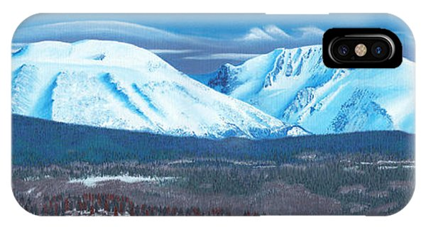 Babine Mountain Range IPhone Case