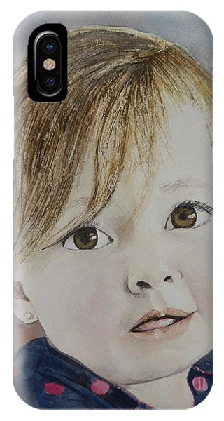 Baby A IPhone Case