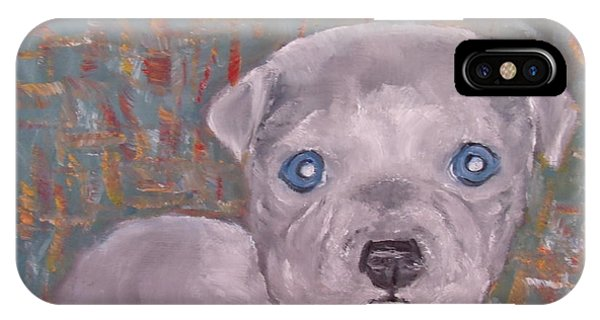 Baby Blue Pit IPhone Case
