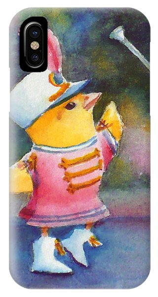 Baby Chick Drum Majorette IPhone Case