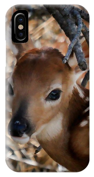 Baby Face Fawn IPhone Case