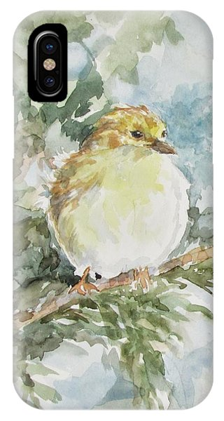 Baby Goldfinch IPhone Case