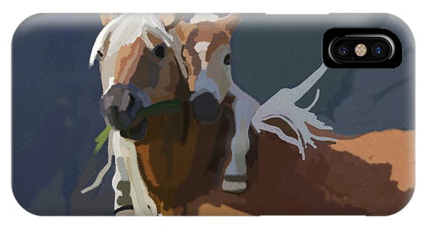 Baby Horse Phone Case by Nydia Williams