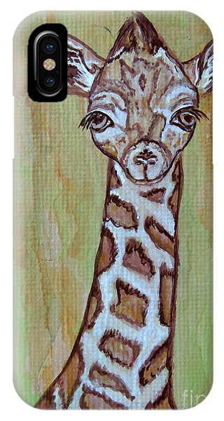 Baby Longneck Giraffe IPhone Case