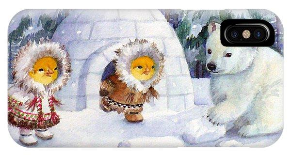 Baby Polar Bear IPhone Case