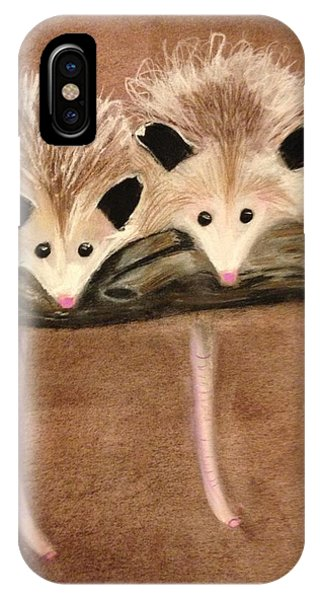 Baby Possums IPhone Case