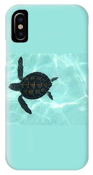 Baby Sea Turtle IPhone Case