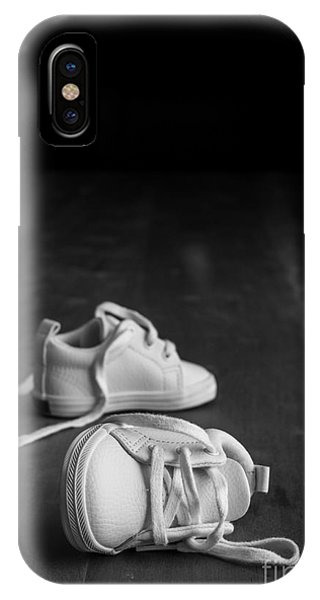 Missing iPhone Case - Baby Shoes by Edward Fielding