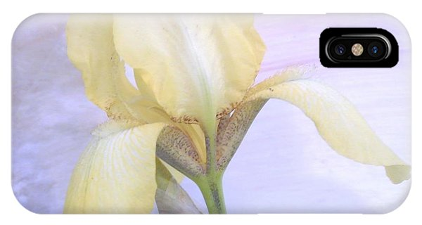 Baby Yellow Iris IPhone Case