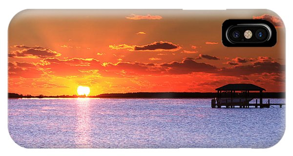 Back Bay Sunrise IPhone Case