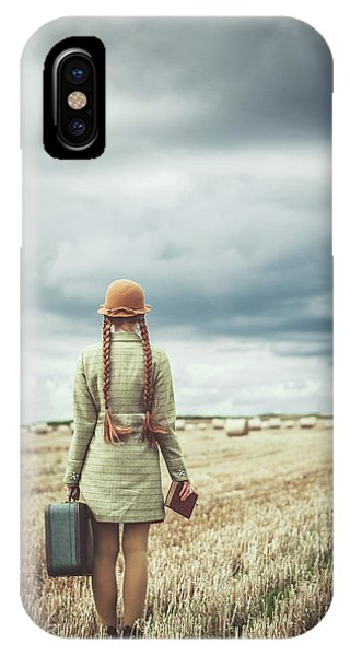 Reading iPhone Case - Back Home by Magdalena Russocka