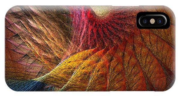 Luminous iPhone Case - Back On Earth Abstract Art Print by Karin Kuhlmann