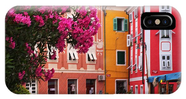 Back Streets Of Izola Slovenia IPhone Case
