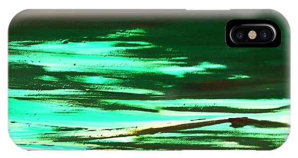 Back To Canvas The Landscape Of The Acid People IPhone Case