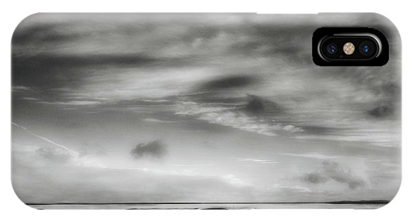 Monochrome iPhone Case - Back To The Future ... by Yvette Depaepe