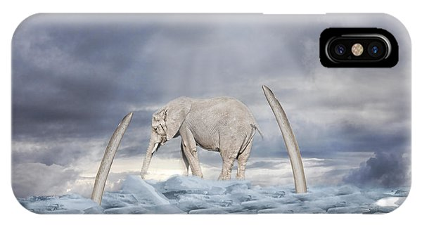 Back To The Ice Age IPhone Case
