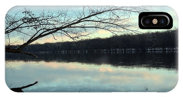 Backlit Skies On The Potomac River Phone Case by Bill Helman