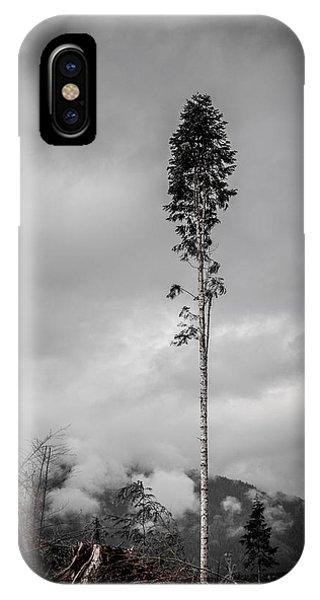 Lone Tree Landscape  IPhone Case