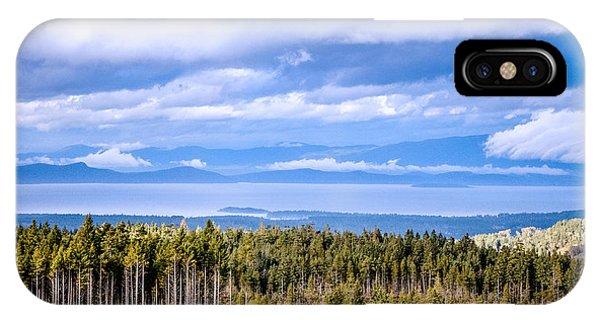 Johnstone Strait High Elevation View IPhone Case