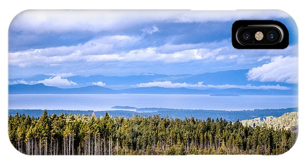 Johnstone Strait High Elevation View IPhone Case