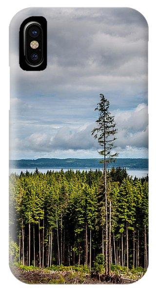 Logging Road Ocean View  IPhone Case