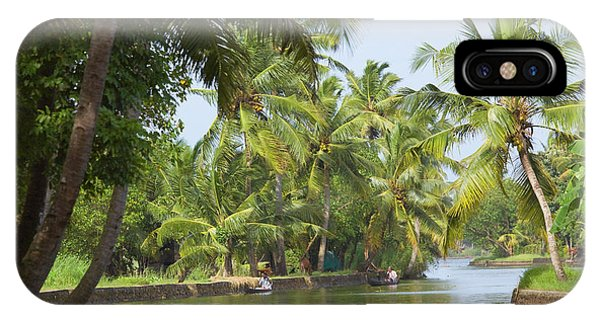 Kerala iPhone Case - Backwaters Of Kerala, India by Keren Su