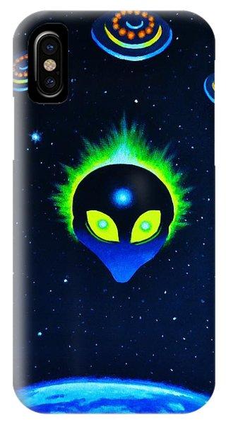 Bad Alien IPhone Case