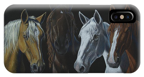 Bad Boys Of Horsefeathers Farm IPhone Case