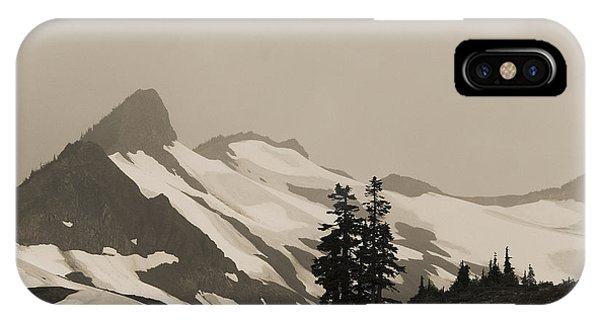Fog In Mountains IPhone Case