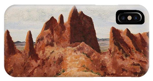 Badlands Pinnacles IPhone Case
